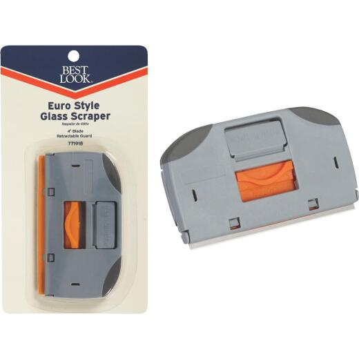 Best Look 4 In. W. Euro-Style Razor Scraper
